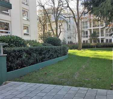 Ab Sommer frei: 4 Zi Mais.Whg mit Balkon, Parkett, EBK, Gartennutzung, Schwimmbad-beste Westendlage