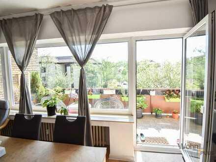 Gepflegte 3 Zimmer Wohnung mit großem Balkon in Düsseldorf Bilk