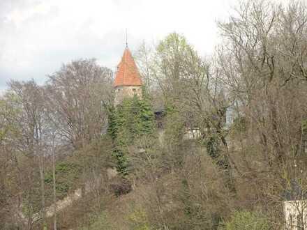 Geschmackvolle und geräumige Wohnung mit einem Zimmer sowie Balkon und EBK in Kempten (Allgäu)