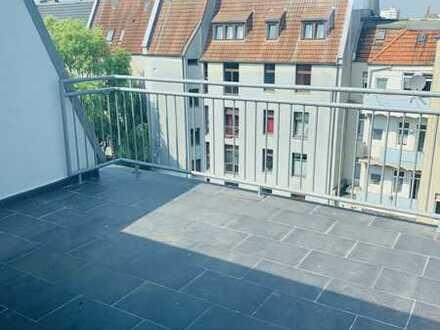 BRIVAG Immobilien: Schöne Dachgeschoss-Wohnung