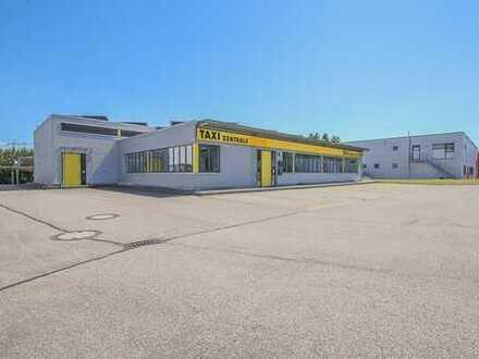 RE/MAX - Betriebs- und Werkstattgebäude mit Carports