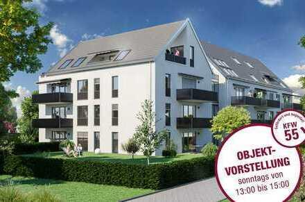 Provisionsfrei vom Bauträger in Top-Lage Göggingen-exkl. 2 Zi-Whg.,sonniger Balkon!große TG-Plätze!