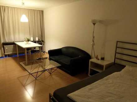 Esslingen- Berkheim 1 Zi- Komfort-Apartment voll möbliert, mit großem Balkon und PKW-Stellplatz