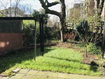 Schöne Wohnung mit Terrasse und Garten in ruhiger Lage