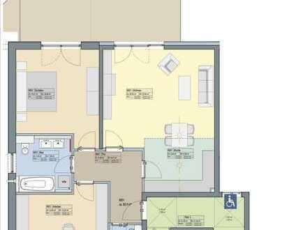 3-Zi.-Wohnung mit großer Terrasse