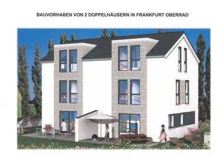 Exklusive und *Provisionsfreie* Neubau- Doppelhaushälfte in Frankfurt - Oberrad