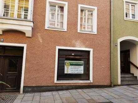 Gewerbeeinheit in der historischen Altstadt Burghausens zu verkaufen