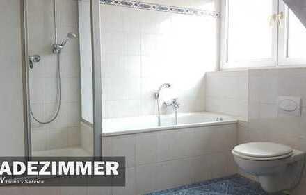 Dachgeschoss Balkon Wanne + Dusche