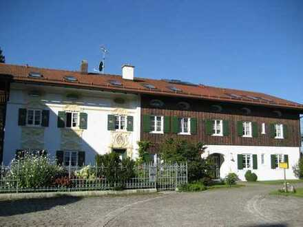 1 Zi m. Kochnische, Diele und Bad - sehr ruhige Wohnlage im Dachgeschoß, herrliches Panorama