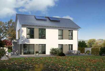 Zweifamilienhaus im KfW 55 Standard und inkl. Grundstück!