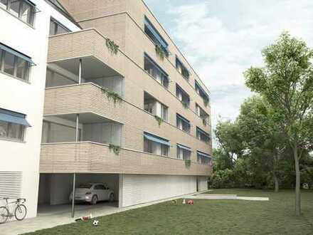 Provisionsfrei - Seniorengerechte Wohnung mit Balkon zum Garten