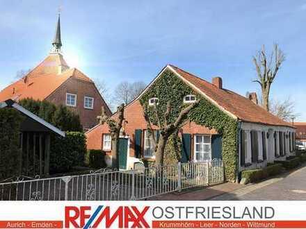 Saniertes Baudenkmal von 1766 - eine Perle an der deutschen Nordseeküste