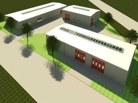 3 Gewerbehallen auf einem Grundstück, Einzelkauf möglich, Renditeobjekt