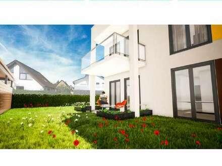 Moderne Eigentumswohnung mit Terrasse und Gartenanteil in Wolfsburg-Fallersleben