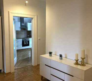 Schöne, gemütliche 3,5-Zimmer-Wohnung mit Einbauküche in der Nähe des Hirschgarten