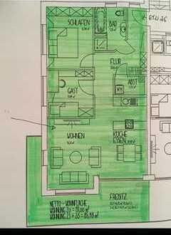 Nachmieter gesucht - 3 ZKB Wohnung in Wertingen