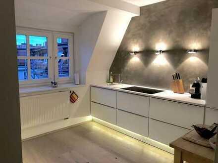 Loft- Zimmer & Traum Blick - Altbau-Design WG (eigene Ebene)