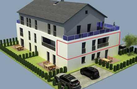 Whg.-Nr.3: 1. OG - 3 Zimmer Wohnung mit Balkon und 2 Stellplätzen