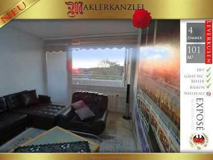 +++ NEU +++ Seltene 4 Zimmerwohnung mit Balkon.