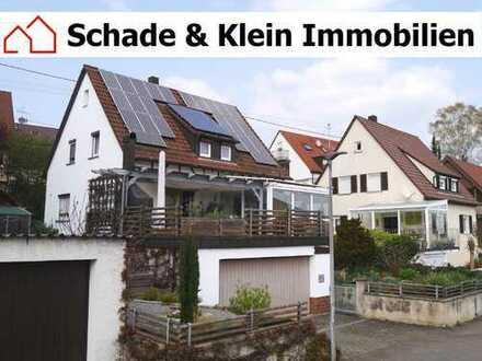 Einfamilienhaus mit Wintergarten, Doppelgarage und Photovoltaikanlage