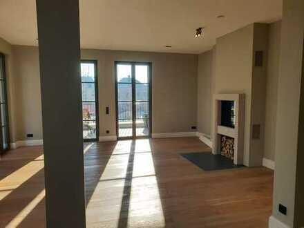 Rheinblick - geräumige und neuwertige 3-Zimmer-Wohnung mit Balkon und Einbauküche in Bonn-Rüngsdorf