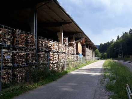 Freilufthalle mit 3940 m² Grundstück
