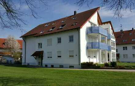 Schöne vier Zimmer Wohnung in Thannhausen, Günzburg (Kreis)
