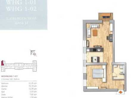 2-Zimmer Wohnung im grünen Buch