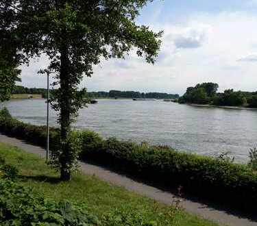 Direkt am Rhein - saniertes Einfamilien-Reihenhaus in Benrath - Schöne Aussicht