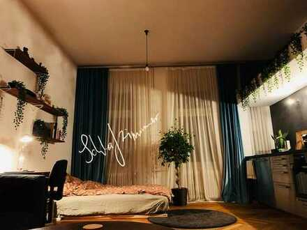 Einzigartiges Juwel: teil-/vollmöblierte 1-Zimmer-Wohnung mit Einbauküche in Kreuzberg, Berlin