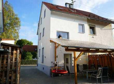 Gemütliche Doppelhaushälfte im Zentrum von Bad Waldsee