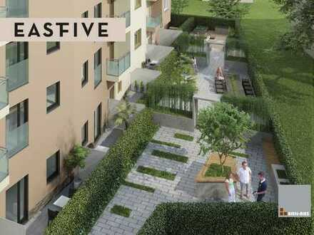 Großzügig geschnittene 2-Zimmer-Wohnung mit Dachterrasse