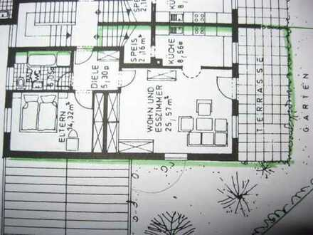 Vermiete 2-Zimmer mit Garagenstellplatz und Garten in Mainburg