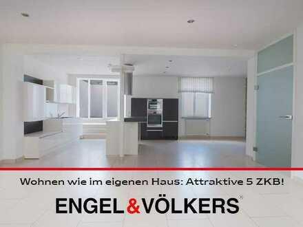 Wohnen wie im eigenen Haus: Attraktive 5 ZKB mit Küche & Dachterrasse!