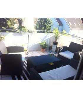 Gemütliche Etagenwohnung über den Dächern von Lingenfeld
