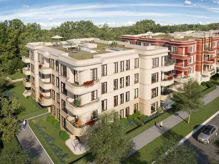 Helle und großzügige Wohnung mit Dachterrasse