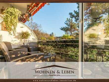 AUSSERGEWÖHNLICH & MODERN | Wohnen über 2 Ebenen am Waldrand von Flüren