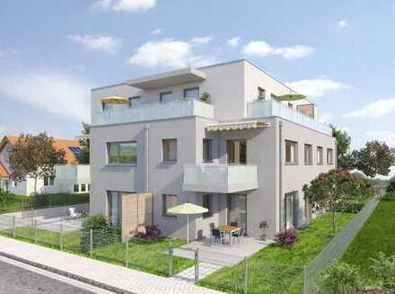 3 Zi Wohnung mit Garten
