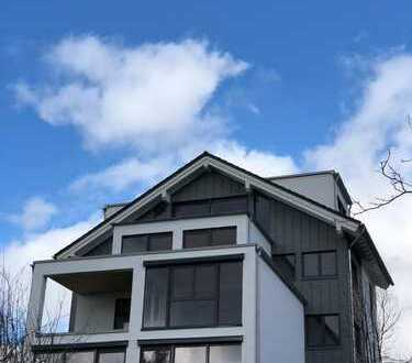 Erstbezug: Attraktive, moderne Penthousewohnung mit Balkon und exkl. Aussicht in Leverkusen