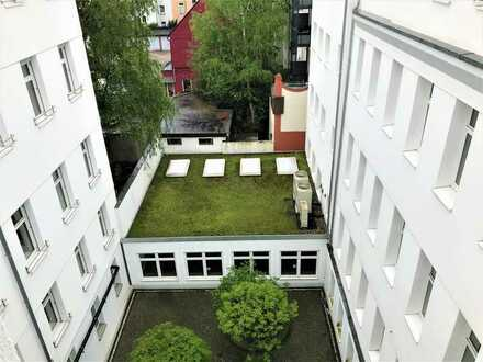Flexibel und zentral: Historisches Bürogebäude mit Charme | viele Stellplätze | provisionsfrei