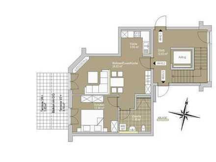 RESERVIERT! Kompakte und durchdachte 2-Zimmer Wohnung mit Außenstellplatz