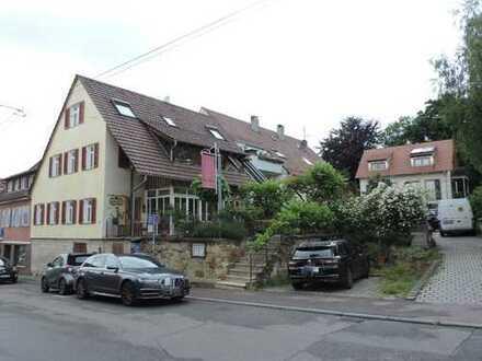 Stuttgart Möhringen 2- Familien-Haus (ehemals Restaurant) mit großer Terrasse im EG