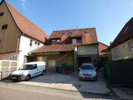 DG-Maisonette-Wohnung mit Stellplatz im Zentrum von Gemmrigheim