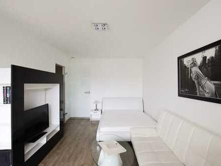 Modern möblierte 1-Zimmer-Wohnung mit EBK