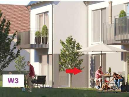 W3 / EG, rechts - hochwertige NEUBAUWOHNUNG - anspruchsvolles Wohnen in schöner Lage