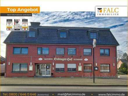 Attraktives Gaststättengebäude mit Wohnung, Saal und Kegelbahn