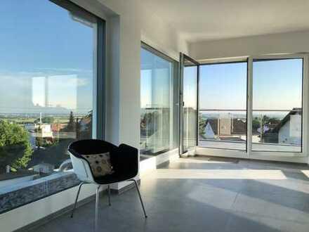 Außergewöhnliches Penthouse mit 180° Rundumblick 2-Zimmer in Hofheim-Dbg.