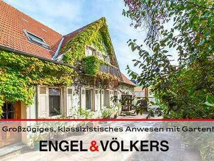 Großzügiges, klassizistisches Anwesen mit Garten in zentraler Lage!