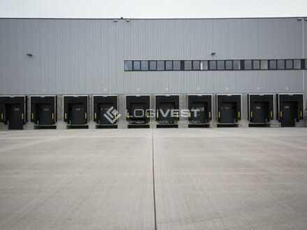 Projektierter Neubau einer Lagerhalle in Heidenau