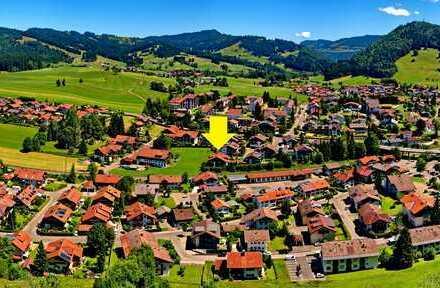 Günstige 3-Zi.-Wohnung in Oberstaufen